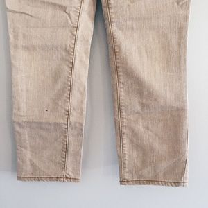 Mossimo Supply Co. Jeans - tan / khaki cropped ankle jeans pants 7 / 28/29